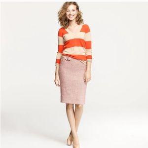 Jcrew vintage tweed no 2 pencil skirt